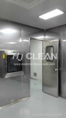 Pharmaceutical modular cleanroom system