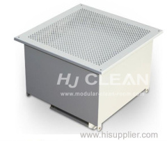 Gel sealed HEPA filter box