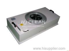 Unità filtro della ventola in acciaio inox (FFU) per camera sterile classe 10000