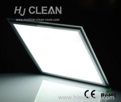camera bianca quadrata soffitto la luce di pannello principale