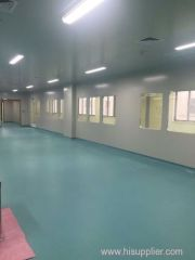 Pharmaceutical modular cleanroom project