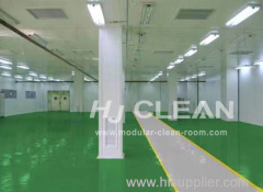 Pharmaceutical clean room floor