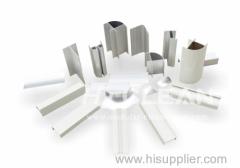 profilo in alluminio per il progetto camere bianche