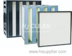 filtro HEPA de alta eficiencia baja resistencia a la gran capacidad de retención de polvo a prueba de humedad