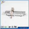 Network cabinet swiveling handle lock