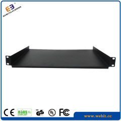 1U network cabinet shelf