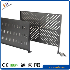 Network cabinet 1U cantilever shelf