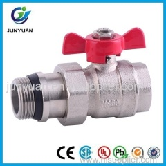 BRASS BALL VALVE WITH UNION