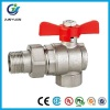 BRASS ANGLE BALL VALVE