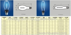 MERCURY Lamps SODIUM AND HWL LAMPE JTT LAMP