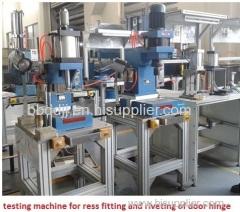 stainless steel ball valve ceramic valve core test machine