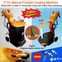 CL-171S new powder coating unit