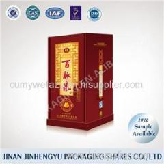 Wine Paper Box Product Product Product