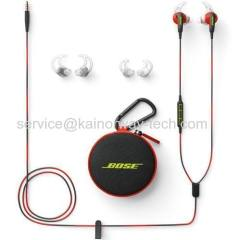 New Bose SoundSport In-Ear Wired Stereo Earphones Power Red With Apple Control