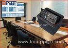 Pneumatic Pop Up Desktop Power Sockets With USB / Network / 3.5 Audio