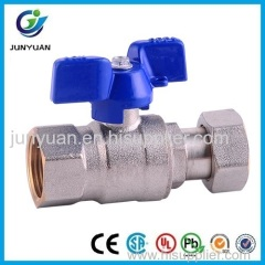 BRASS UNION BALL VALVE