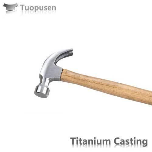Titanium Casting titanium hammer head Grade C2/3