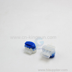 Hot wire 314 self-stripping Moistureproof waterproof electrical communication wiring connector