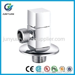 Hot Sale square brass angle valve for basin sink
