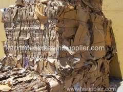 OCC Waste Paper in Bales (Cardboard)