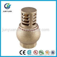 Brass Water Pump Foot Valve