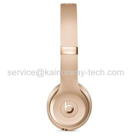 Beats Solo3 Wireless Over Ear Stereo Headphone Headsets With Bluetooth Gold Special Edition