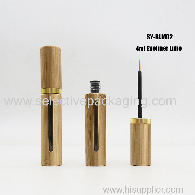 4ml eyeliner tube cap with gold ring