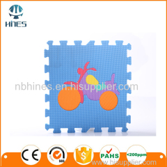 Colorful Inter EVA Foam Mat locking Tiles Puzzle mat