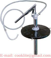 5 Gallon Pail Lever Action Pump Oil Gear Fluid Bucket Type Steel Transfer Lube