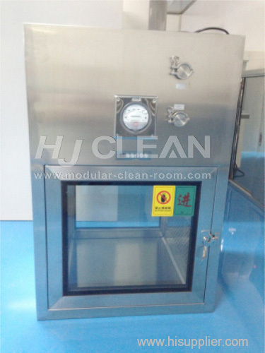 Best price stainless steel SUS304 static / dynamic type cleanroom pass box