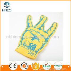 Popular Giant Cheering EVA/Sponge Foam Finger Foam Hand