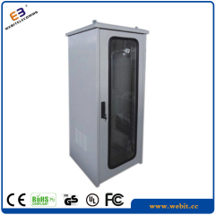 Glass door IP55 outdoor cabinet