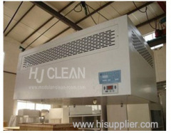 Cleanroom laminar flow hook