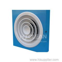 vari tipi diffusore d'aria per camere bianche