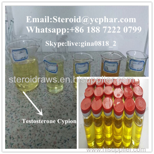Injectable Steroid Gear Testosterone Cypionate 250mg/ml