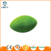 Soft pu material rugby stress ball with logo american football ball for kids