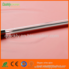 Quartz transparent tube Infrared emitter