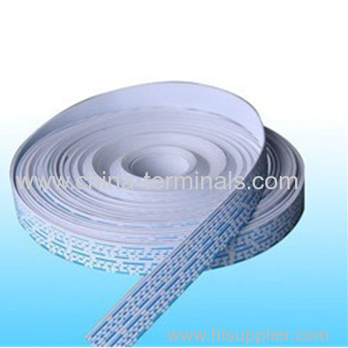 2468 EXTRUDED RIBBON CABLE Blue and white 1.5mm pitch