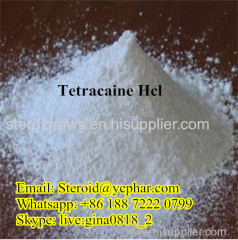 Local Anesthetics Tetracaine Hcl Tetracaine Hydrochloride for Health