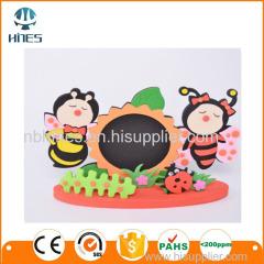 Custom DIY bee eva foam photo frame