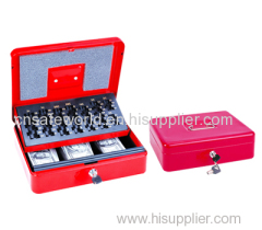Security lock w/2 keys Euro cash box