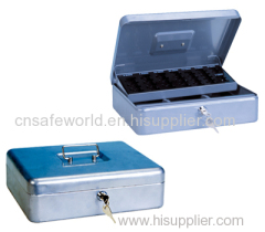 Heavy duty steel Euro cash box