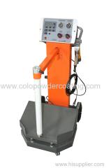 Nuovo modello di macchina di verniciatura a polvere elettrostatica con Smart trolley