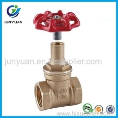 Hot Sales High Quality Brass Lockable Gate Valves