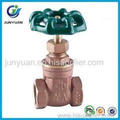 Bronze Color Brass Gate Valve