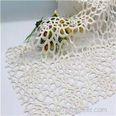 Polyester Embroidery Chemical Lace