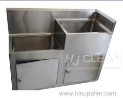 Cuarto de baño lavado a mano