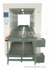 Cleanroom Air Shower Tunnel Auto Roll Conveyor