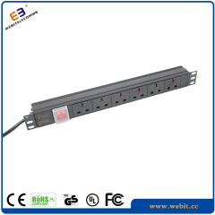19 inch horizontal UK PDU