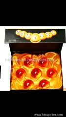 42mm Acrylic dragon ball 7 pcs per set